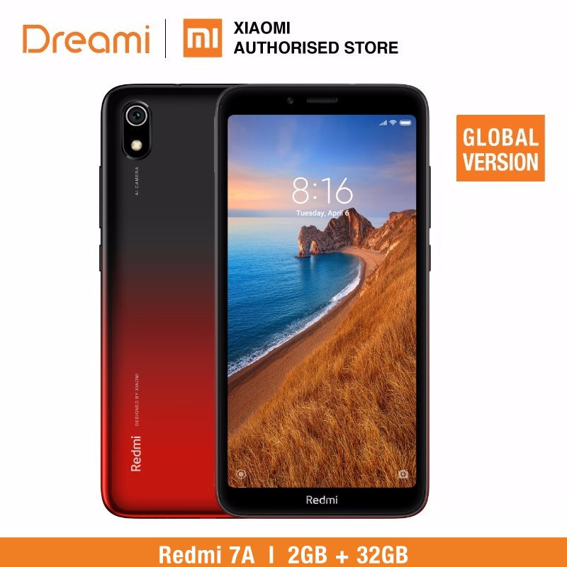 Version globale Xiaomi Redmi 7A 32 GB ROM 2 GB RAM (tout neuf et scellé) 7a 32 gb