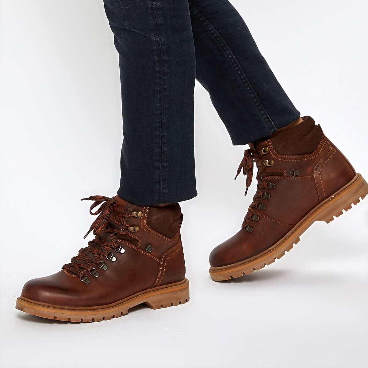 FLO BEERUS 9PR Tan Men Boots KINETIX