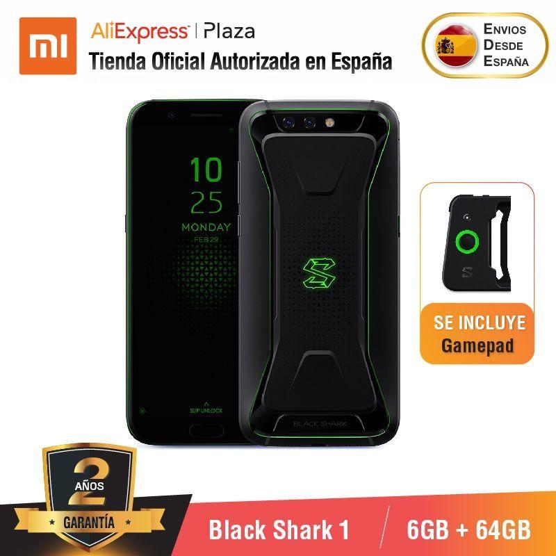 [Versión Global para España] Xiaomi Black Shark 1 (Memoria interna de 64 GB, 6GB de RAM, 4,000 mAh, 20MP front camera)