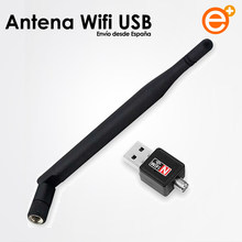 Антенна Wi-Fi USB Adapatador 150 Мбит порт LAN Беспроводной Potencia Largo Alcance 2,4G Adapatador приемное устройство de Wi-Fi для ПК Windows