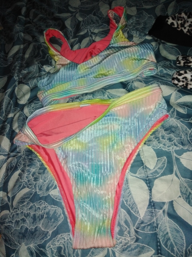 Women's Sexy Style Leopard Print Bikini Set photo review