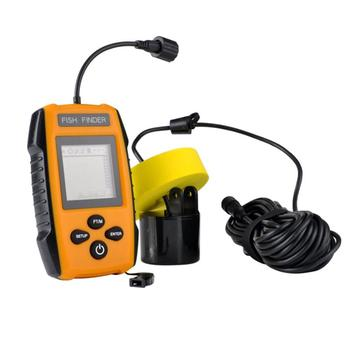 Wired Sonar Fish Finder With Depth Scale Audible Alarm Get The Approximate Location Of 1 Pcs