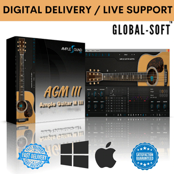 ✅ Ample Guitar M III v3.3.0 ✅ WINDOWS & MAC ✅ FULL VERSION ✅ LIFETIME ACTIVATION ✅ FAST DELIVERY ✅