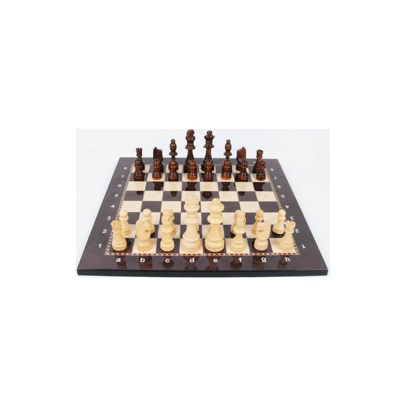 Lux Топ Класс изысканный деревянный складной большой набор для игры в шахматы шашки твердой древесины клена шахматная доска развлечение нас...