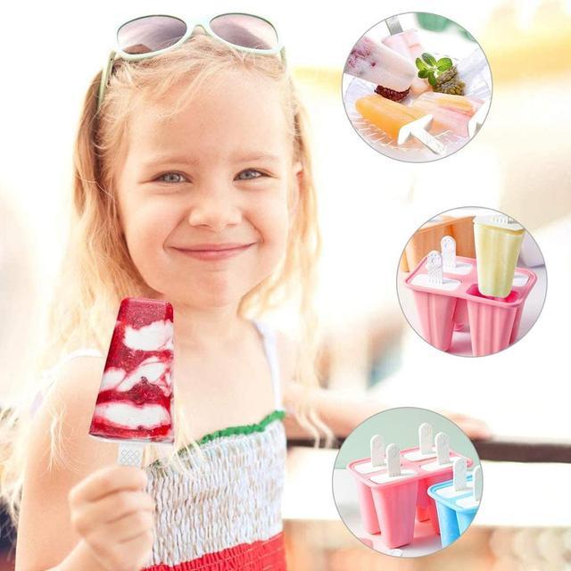 форма для самостоятельного приготовления мороженого пластиковые фотография