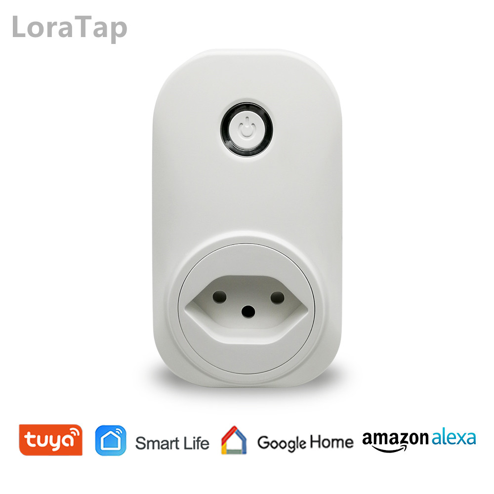 Wifi Smart Socket CH Plug 16A Voice Control with Google Home Alexa Echo Tuya Smart Life App Timer and Remote Control the Devices