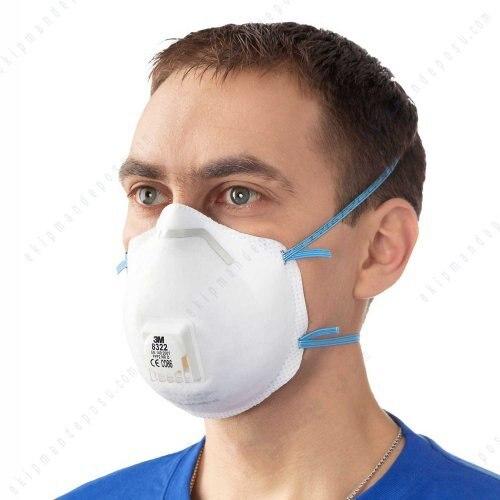 masque respiratoire bacterie virus