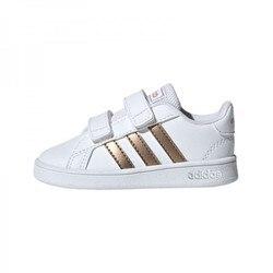 Adidas Schoenen Baby GRAND HOF I, gratis en Tijd sportwear, Wit