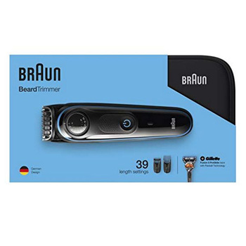 Braun Afeitadora electrica , recortadora de barba BT3940, negra, personalizada, afeitadora eléctrica...