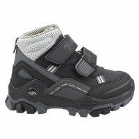 Boys Boots Shoes Spring Autumn Black PU Children's Leather Fashion Kids Warm Winter Rubber Waterproof Snow Rain Baby Water 24219