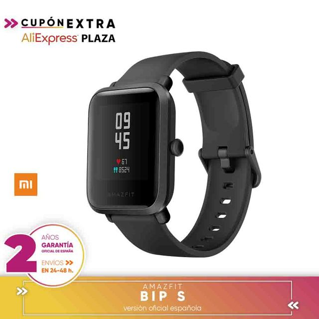 [Official Spanish Version warranty] Global Version Amazfit Bip S Smartwatch 5ATM GPS GLONASS Bluetooth Smart Watch