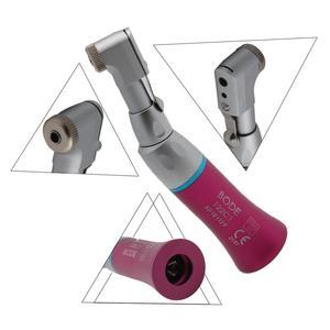 Image 5 - Zahn Niedriger Geschwindigkeit Handstück Air Turbine Contra Winkel Handstück Push Botton Dental Handstück BODE 122CP