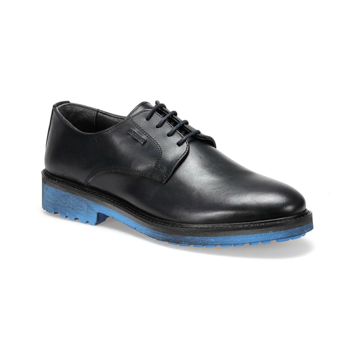 FLO LINA Navy Blue Men 'S Classic Shoes MERCEDES