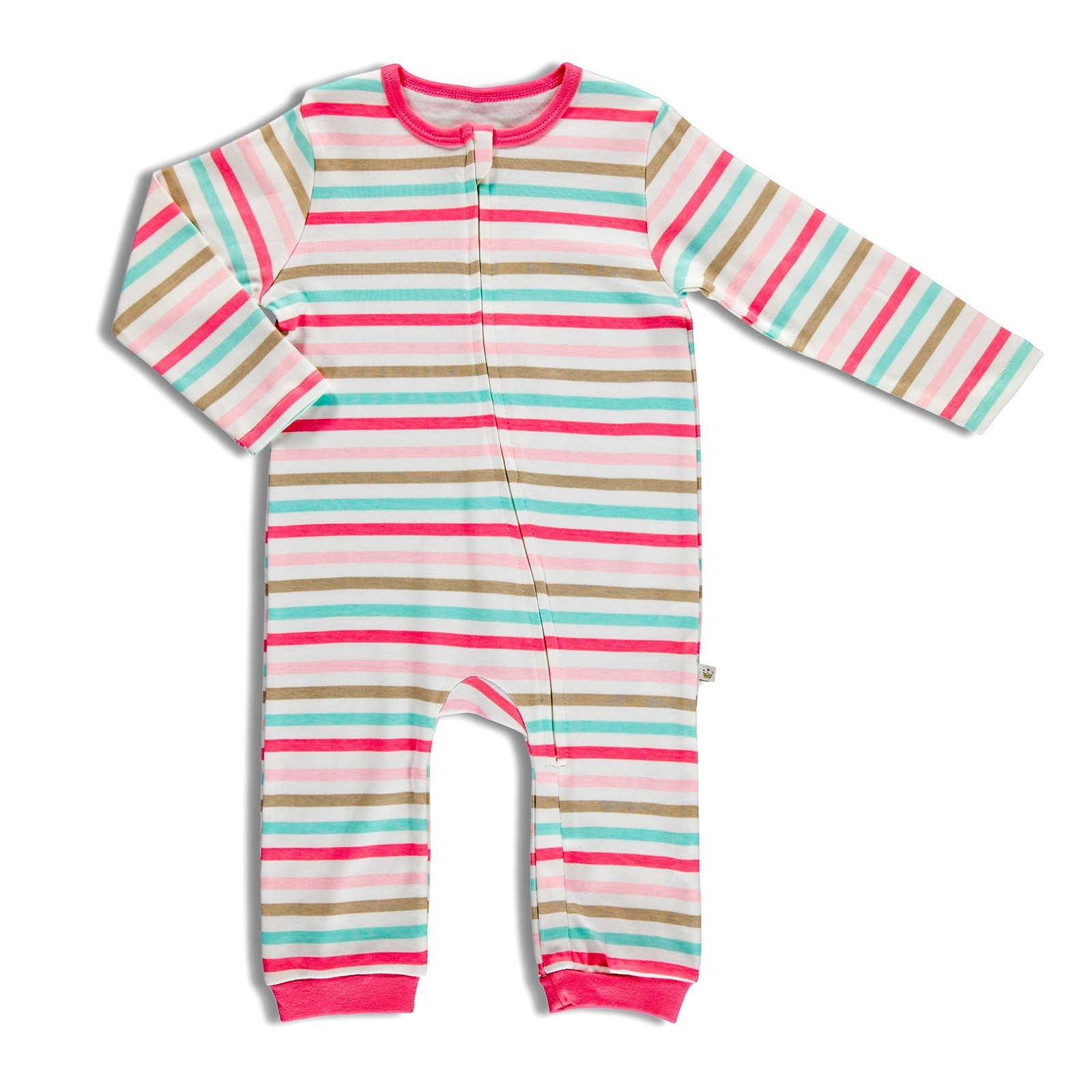 Ebebek For My Baby Yummy Rib Zippered Romper