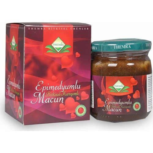Themra Honey Herbal Paste 43Gr Turkish Epimedium Paste Horny Goat Weed, Ginseng Herbal Aphrodisiac, Natural Health