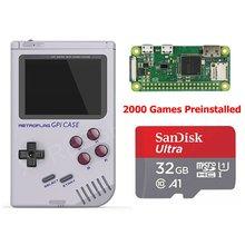Frambuesa Pi Zero W Original Retroflag GPi caso consola de juegos portátil 32G