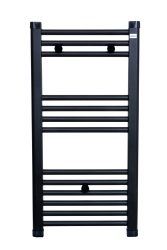 DIGISU 400X800 BLACK TOWEL RADIATOR