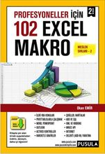 102 for professionals With An Example of Excel Macro Okan Orders Compass Yayıncılık()