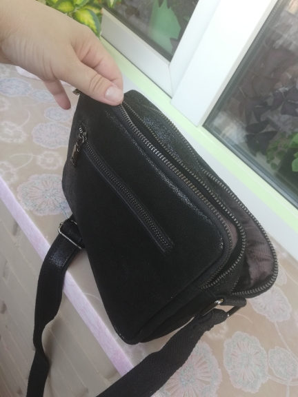 Genuine Leather Crossbody Bag photo review