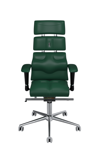 Office Chair KULIK SYSTEM PYRAMID Green Computer Chair Relief And Comfort For The Back 5 Zones Control Spine
