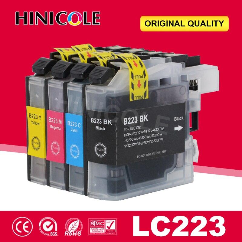 Чернильный картридж hinбуду LC223 LC 223 LC223XL, совместим с Brother DCP-J562DW DCP-J4120DW MFC-J480DW MFC-J680DW