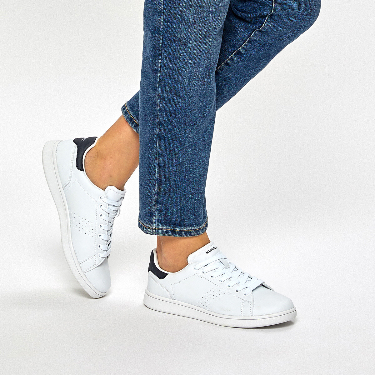 FLO PLAIN W 9PR Black Women 'S Sneaker Shoes KINETIX
