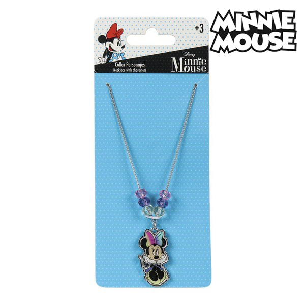 Girl's Necklace Minnie Mouse 73959
