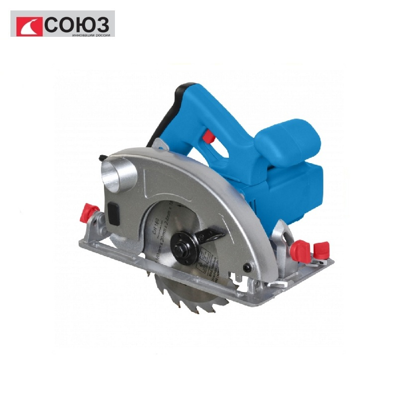 TsPS-50160 Circular saw UNION 1300 W, blade 160x20 mm, cut-55 mm Miter saw The Gig saw Carpentry tools for working with wood