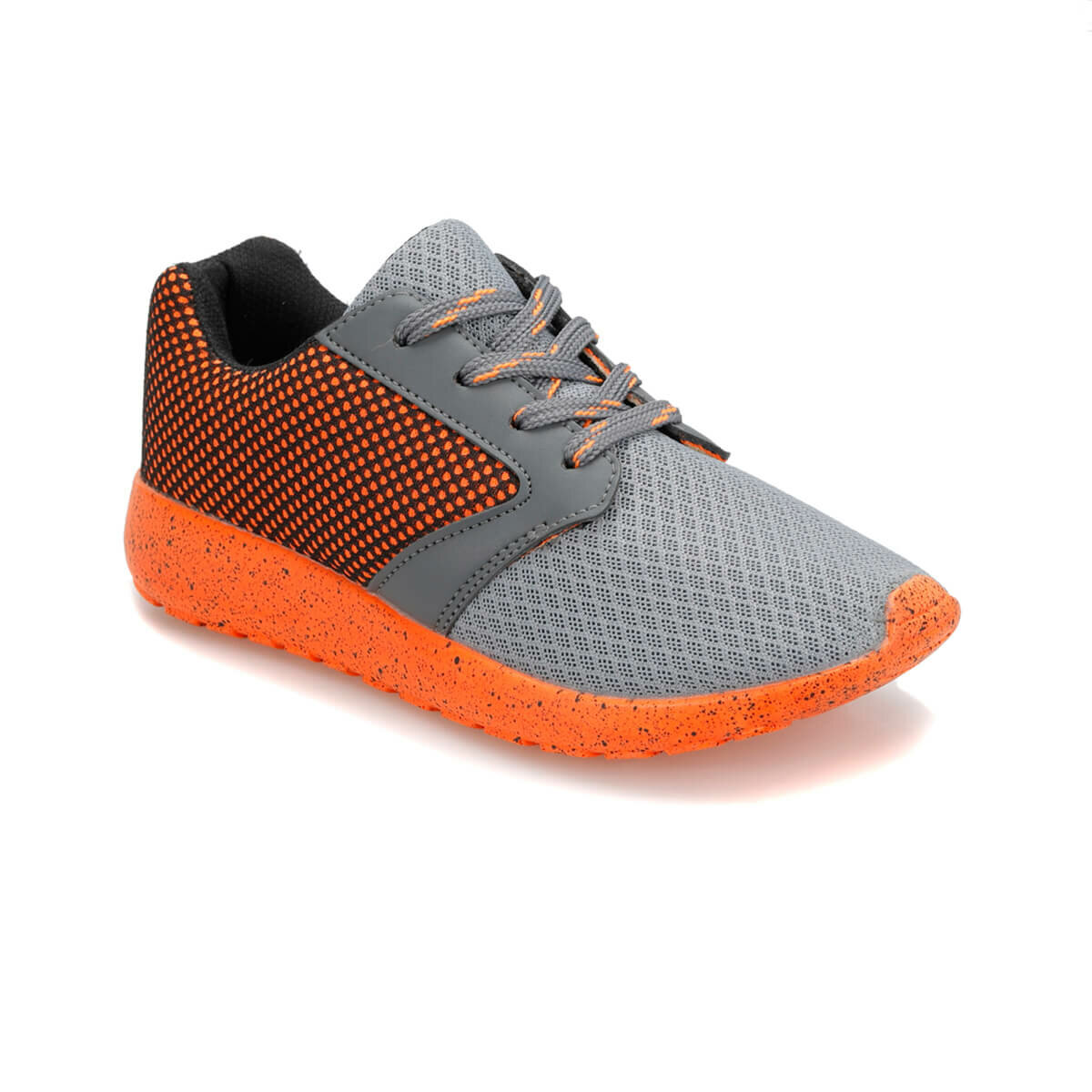 FLO BASE Gray Male Child Sneaker Shoes I-Cool