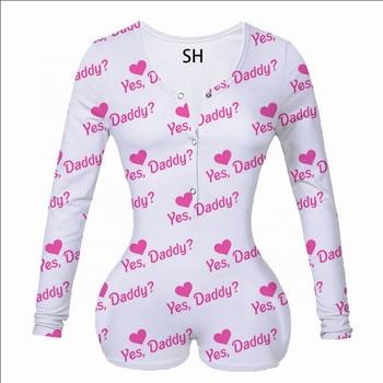 2020 Hot Sale Womens Jumpsuit Sleepwear Fashion Floral Long Sleeve V Neck Bodycon Jumpsuit Bodysuit Romper Shorts Pants Overalls