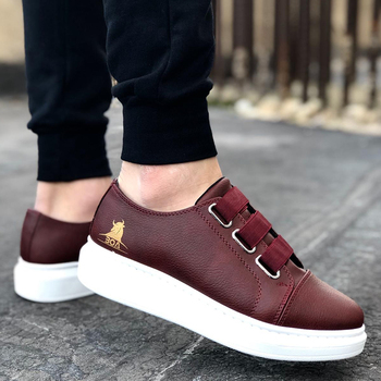 цена на BOA Sneakers Men Sneakers Casual Comfortable Flexible Fashion Leather Wedding Orthopedic Walking Shoe Sport Shoes Comfort Lightweight Sneakers Running Shoes Breathable Zapatos Hombre BOA BA0026 Size 40-45