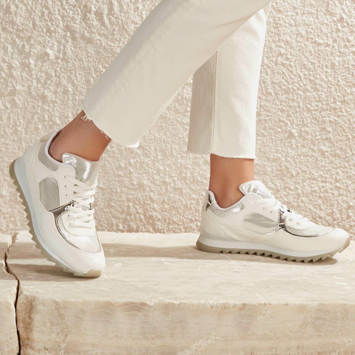 FLO BASTEN01Z SKIN White Women 'S Sneaker Shoes BUTIGO