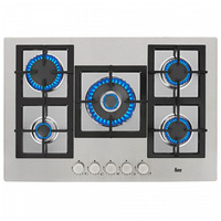 Gas Hob Teka EFX70 75 cm 75 cm Stainless steel (5 Stoves)|Cooktops|   -