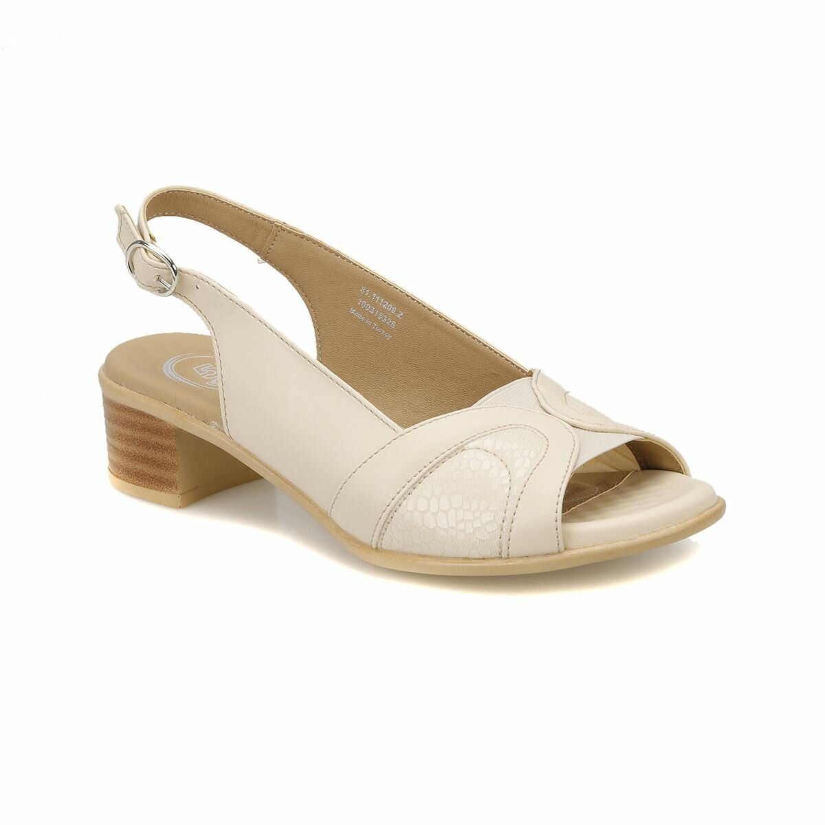 FLO 81.111206.Z Beige Women Basic Comfort Polaris 5 Point
