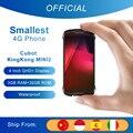 Смартфон Cubot KingKong MINI2 Защищенный смартфон, 4 дюйма, 4G LTE, 2 SIM, Google Android 10, 3 ГБ + 32 ГБ, 13 МП Камера Мобильные Телефоны Водонепроницаемый Телефон Мал...