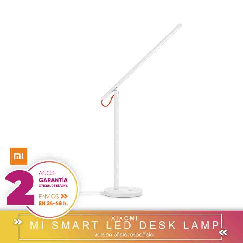 [Official Spanish Version Warranty] Xiaomi Mi LED Desk Lamp-Lamp WiFi LED Multicolor With Dimming Light Intensity