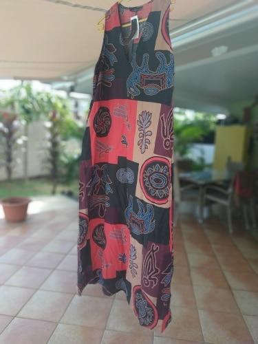 Women Summer Bohemian Floral Print Maxi Long Dress Vintage Casual Cotton Linen Tanks Vestido Sundress Robe Vest Dresses photo review