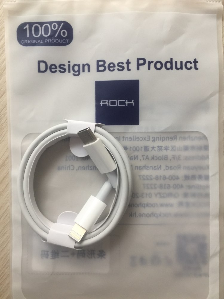 ROCK PD Type C to Lighting Fast Charging Cable 18W for iPhone X 8 plus Macbook PD Charger Sync data cord USB C USB C Cable|Mobile Phone Cables|   - AliExpress