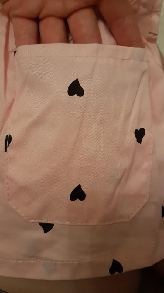 New 2021 Girls Summer Beach Shorts Kids Baby Girls Heart Dot Print Bow Shorts Little Girls Children Fashion Short Pants Clothes photo review