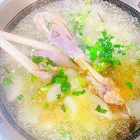"""#美食说出""""新年好""""#羊腿罗卜煲汤的做法图解12"""