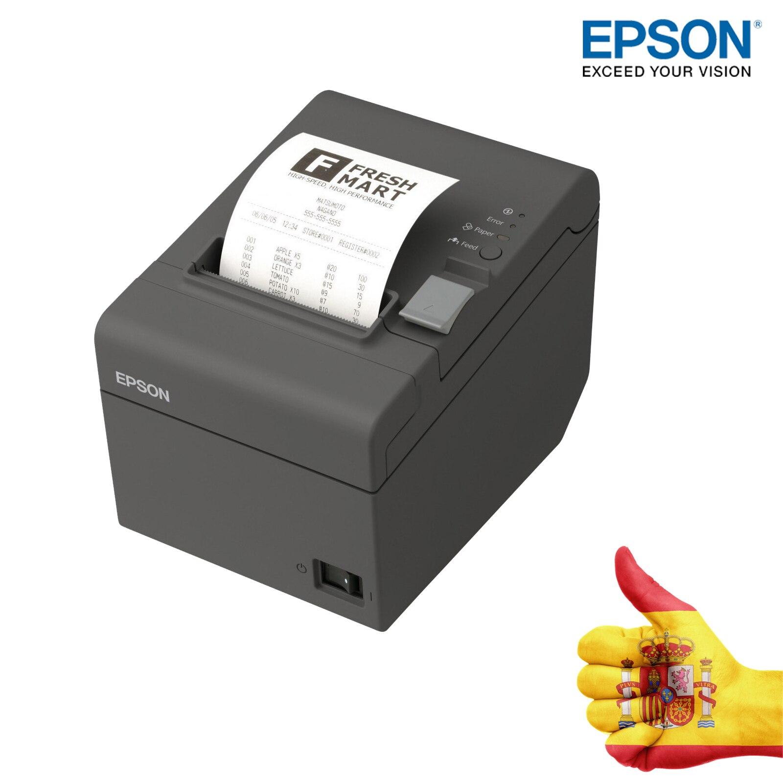 TPV PRINTER TICKET PRINTER EPSON TMT20II NEG USB RS232