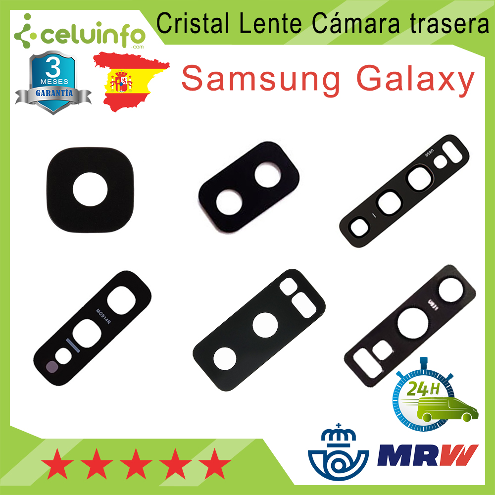 Crystal for Samsung Galaxy J6 tailgate camera lens 2018/J6 Plus/S10/S10 Plus/S10 Lite/ s10E/Note 8/N