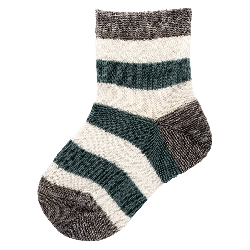 Socks 2 pairs Chicco, size 022, color and gray-green stripe socks 2 pairs chicco size 022 color white