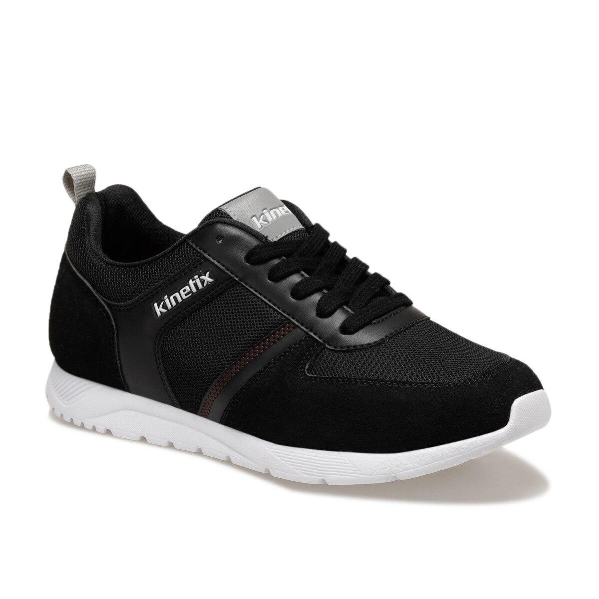 FLO CORDOVA Black Men 'S Sneaker Shoes KINETIX