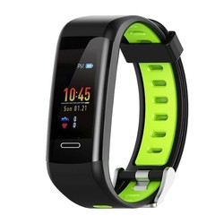 Quantifying bracelet leotec fitness gps green color-screen color 2.44cm-bt-kingly gps-notifications-ip68-