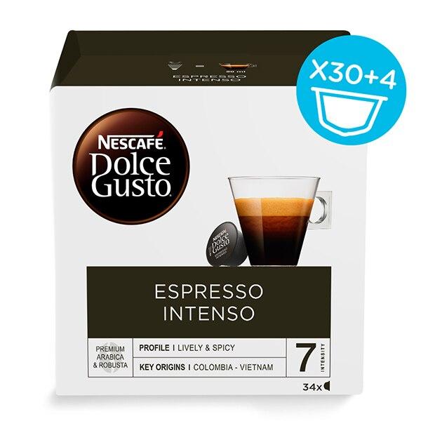 Coffee Capsules Nescafé Dolce Gusto (34 Uds) Espresso Intenso