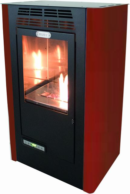 Bioethanol Stove Ruby Compact Programmable-big Power Supplies Heating-Remote Control-Three Tiers Power