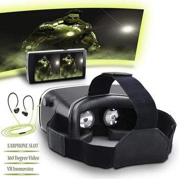3D VR GAFAS REALIDAD VIRTUAL UNIVERSAL AJUSTABLE JUEGOS DE VÍDEO ANDROID IPHONE