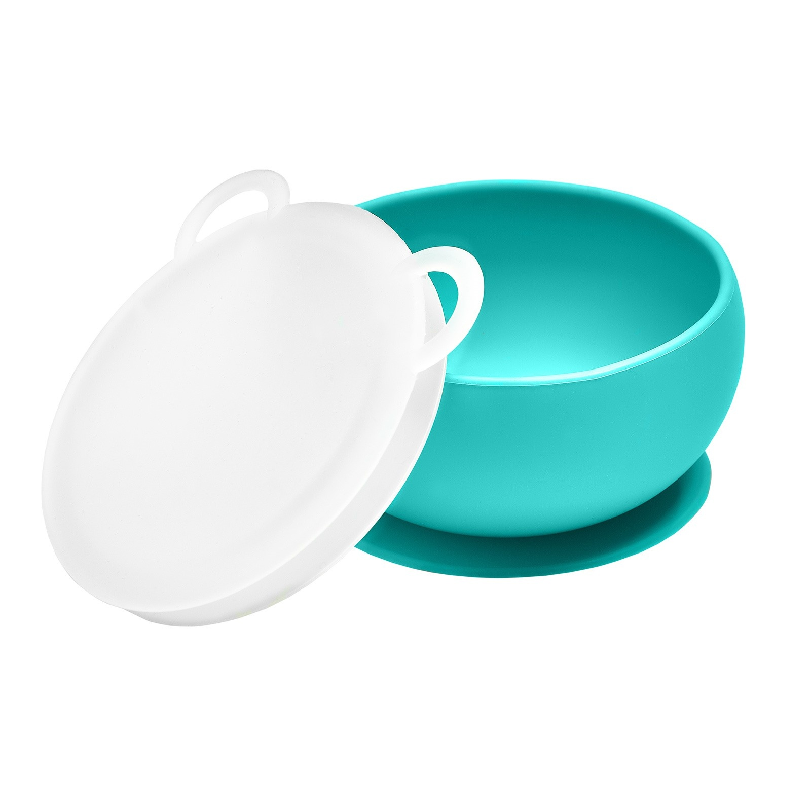 Ebebek Oioi Silicone Bowl With Lid - Green