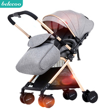 Belecoo two-way stroller Seat and recliner Lightweight folding shock-absorbing stroller